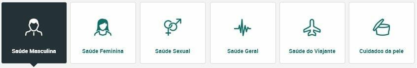 121Doc em Portugal oferece diferentes medicamentos com excelentes opiniões para homens e mulheres