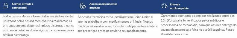 A Euroclinix é uma farmácia legal e confiável que oferece produtos de qualidade: opinião geral do cliente