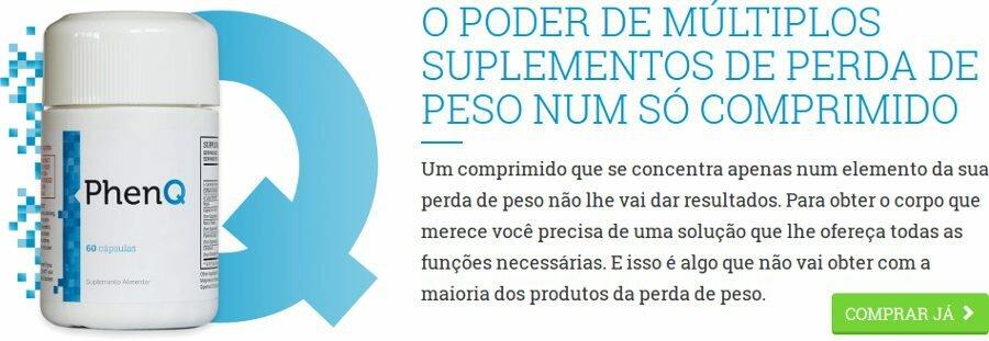 PhenQ é um suplemento para perder peso de forma eficaz e séria