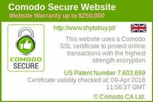 Shytobuy é uma loja online confiável, garantida com certificado https e seguro Comodo