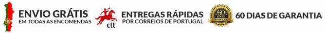 Benefícios da Bauer Nutrition: frete grátis para Portugal, produtos de qualidade e garantia de devolução do dinheiro
