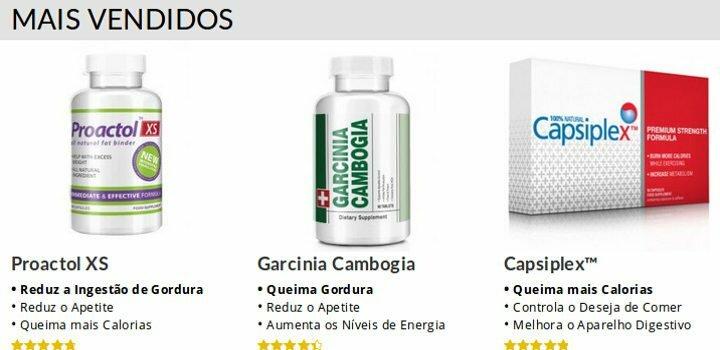 Melhores produtos Bauernutrition: Proactol XS, Capsiplex, Garcinia Cambogia: alta qualidade e melhores preços