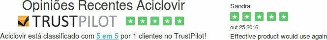 Opiniões comprar Aciclovir Portugal: testemunho sobre medicamento: é confiável?
