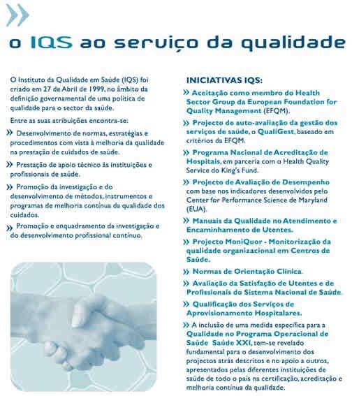 Dia mundial da qualidade IQS : Instituto Qualidade Saúde