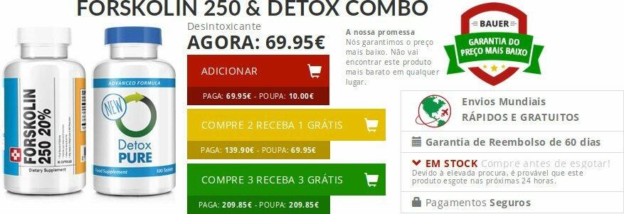 Forskolin Portugal: descrição, preços e comentários : é confiável?