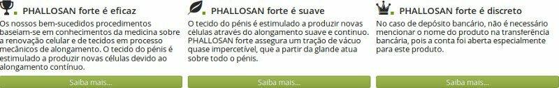 Phallosanforte na Portugal: é confiável? Opiniões e Comentários de usuários